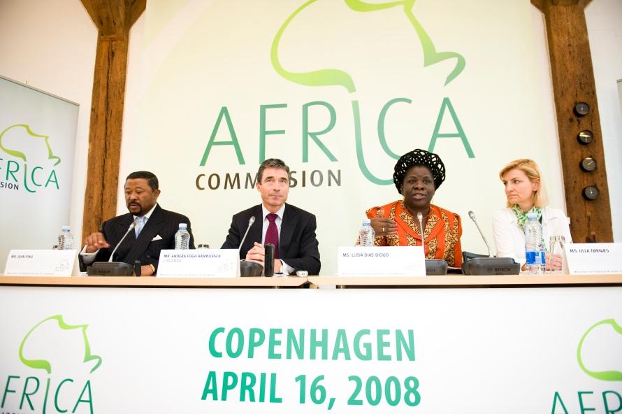 F¿rste pressem¿de for regeringens Afrikakommission under ledelse af Anders Fogh Rasmussen
